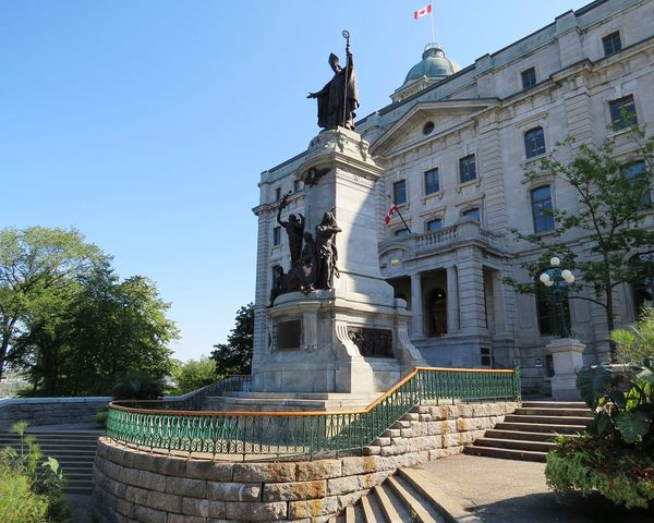 Roadtrip 2016 CANADA/USA Statue Architecture History Travel Destinations Sculpture No People Outdoors Sky Politics And Government Clear Sky City Travel Quebec Cityscape Quebec, Canada Canada Photos Quebec Ciy Québec Canada We The North Canada North America Religion Indian Building Exterior Statue