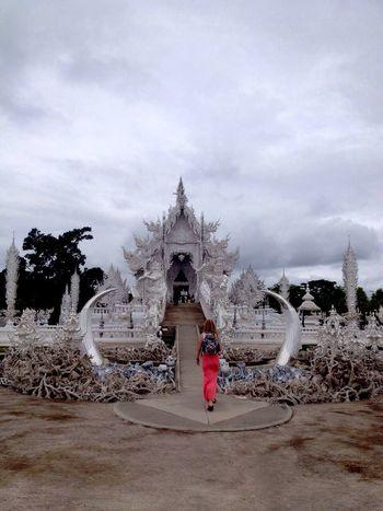Thailand White Temple Woow Destination