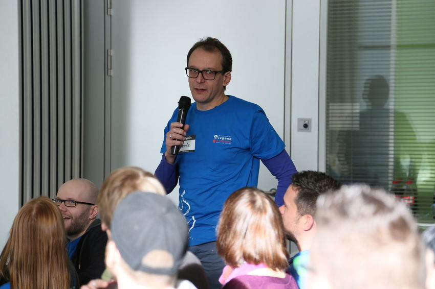 Barcamp BarcampErfurt Erfurt Introduction Of Participants KinderMedienZentrum KJM Konferenz Participants People Studiopark Teilnehmer Thuringen