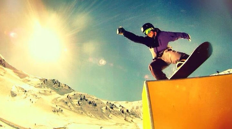 Snowboard Snowboarding Gopro