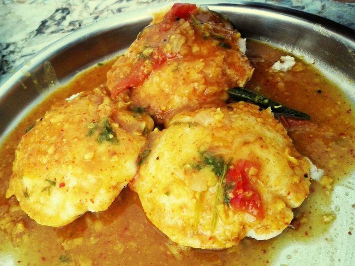 Home made sambar idli .... Idli