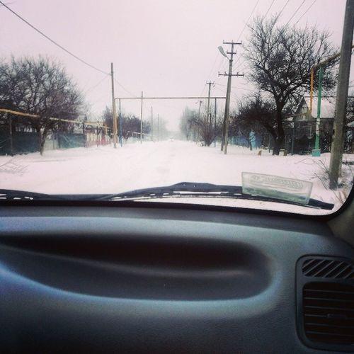 Приехала домой кароч дубак мороз жопа яибау снег нуегонахер