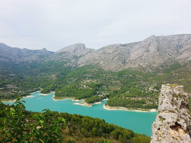 SPAIN Guadalest Lake Peaks Nature The KIOMI Collection Landscape Traveling
