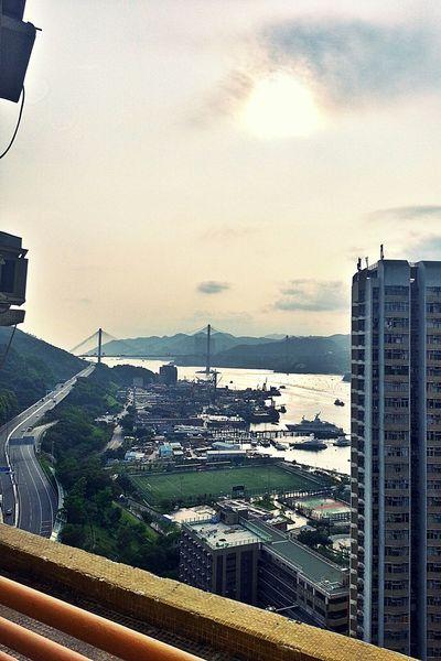 HongKong Snapshot Hot Weather Tsing Yi