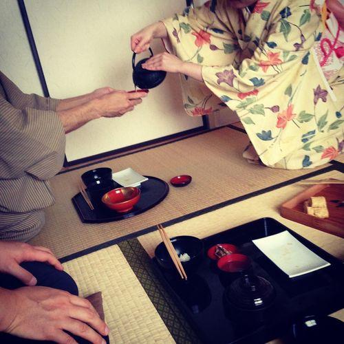 Japanese Culture Japanese Style Celemony Cha Indoors  Japanese Tea Japanese Tea Ceremony Maccha Men Washitsu Women First Eyeem Photo