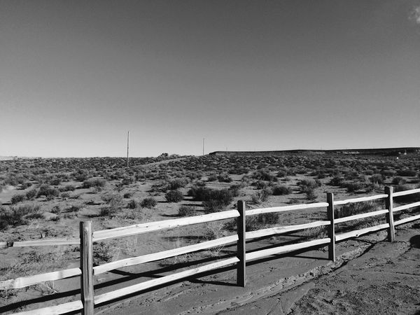 Clear Sky No People Landscape Outdoors Day Road Nature Tranquil Scene Tranquility Sky Electricity Pylon Mountain Gobi Desert Western World