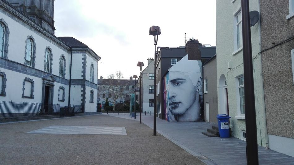 Ireland Lamp Post Old Town Architecture Building Exterior Architecture City Day Empty Road Murales Urbanos Muralesart No People