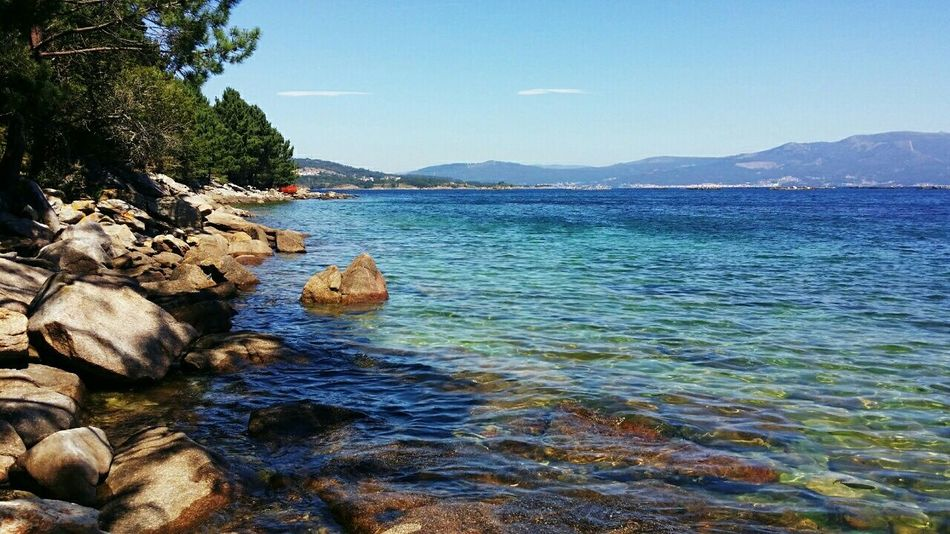 Rias Baixas Sea Life Sea_collection Galicia, Spain Life Is A Beach Water Reflections Sea And Sky Summer Relax Landscape