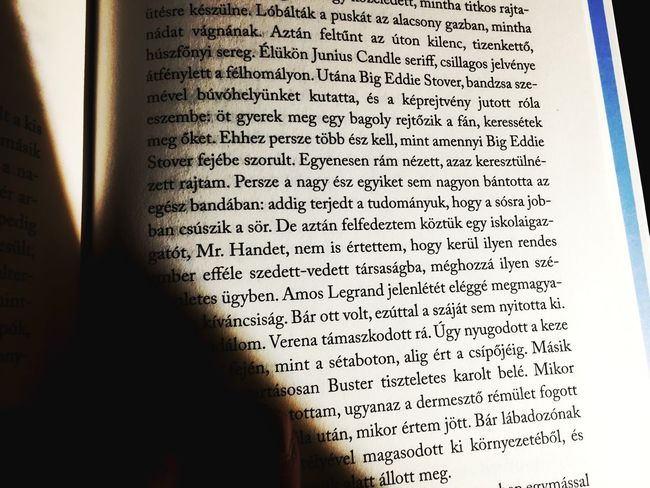 Read Reading A Book Reading Hungarian Books Books Books ♥ Story Booklover Read A Book Capote Trumancapote Reader BookLovers Close-up Text Communication No People Indoors  Day