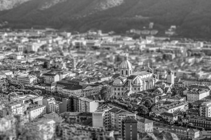 City of Como from Brunate Architecture_bw Architecture_collection Architecturelovers B/W Photography Church City Como Duomo Duomo Di Como Italy❤️ Tiltshift
