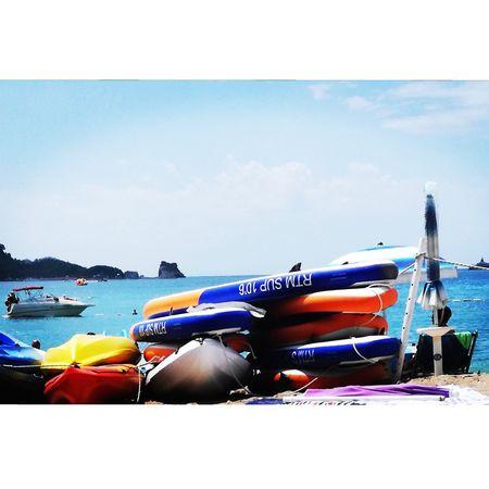 Sea And Sky Summer ☀ Beautiful ♥ Sky 🐚beautiful Beach ⚓⛵sea 💃💃💃💃