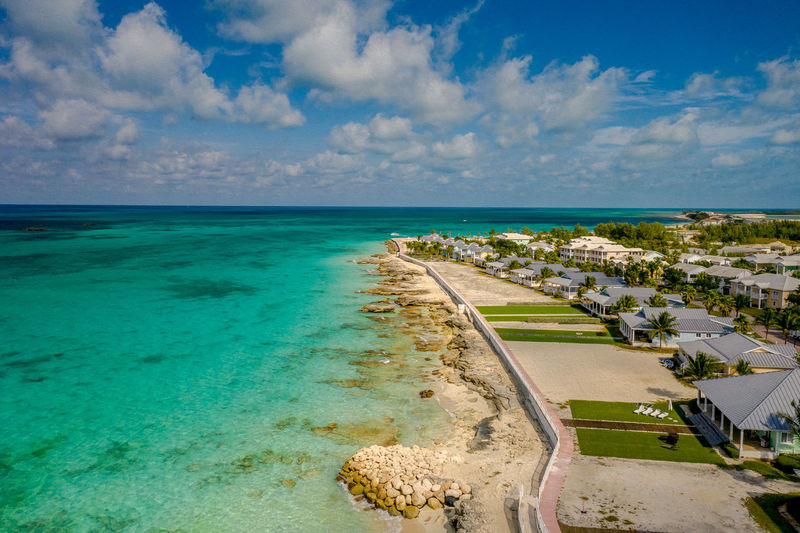 Own or Rent Sea Water Cloud - Sky Horizon Horizon Over Water Beach Land Sky Scenics - Nature Beauty In Nature No People Day Outdoors Turquoise Colored Tropical Climate Idyllic Bimini Tranquil Scene Nature Travel Destinations