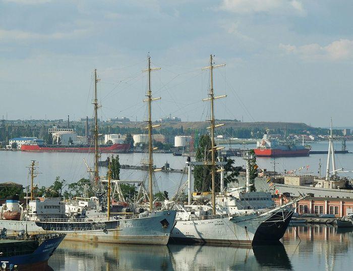 At the port Odessa, ships, nace photo The Ukraine NAVY Ship To Port Of Odessa