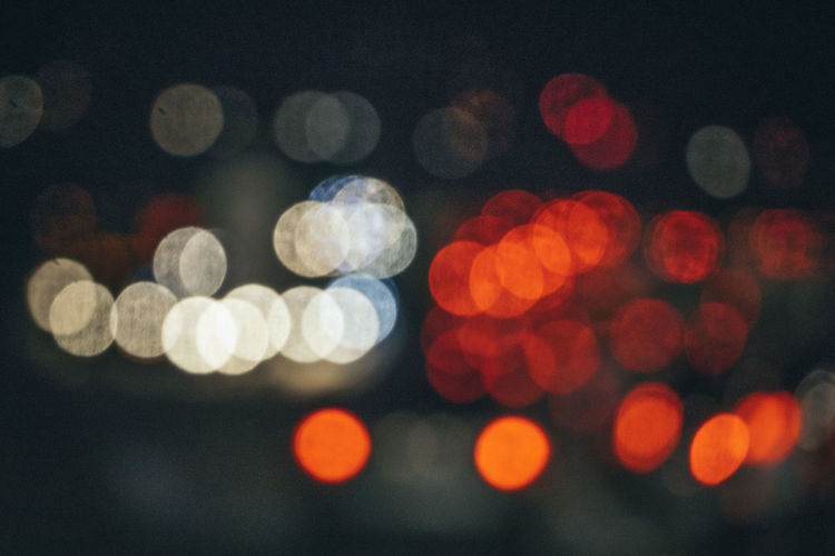 Backgrounds Close-up Defocused Illuminated Lens Flare Nature Night No People Outdoors