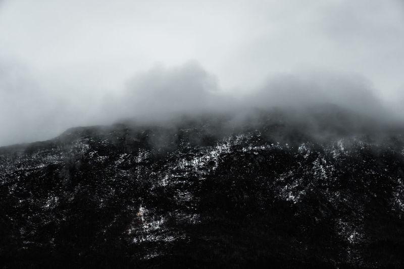 Dark Landscapes of Norway Dark Hurtigruten Norway Perspectives On Nature Winter Boat Cruise Darklands Fjords Landscape