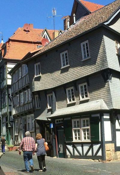 Fritzlar the House in the Front is built 1467 Jhd Fritzlar Old Town Architecture Built Structure Outdoors