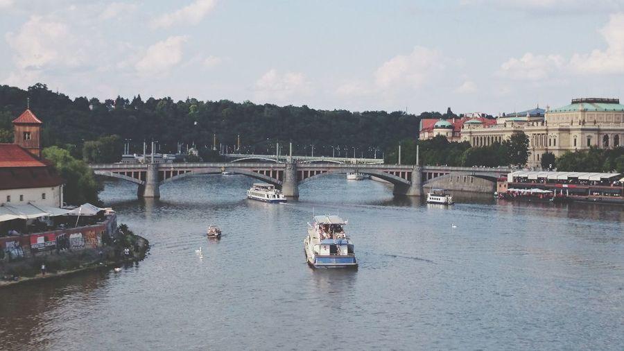 Bridge Riverside River Travel Destinations