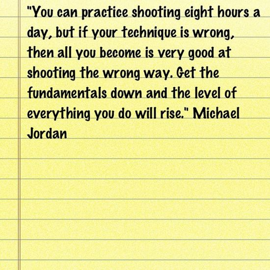 A great quote from to start the day. Michaeljordan Quotes
