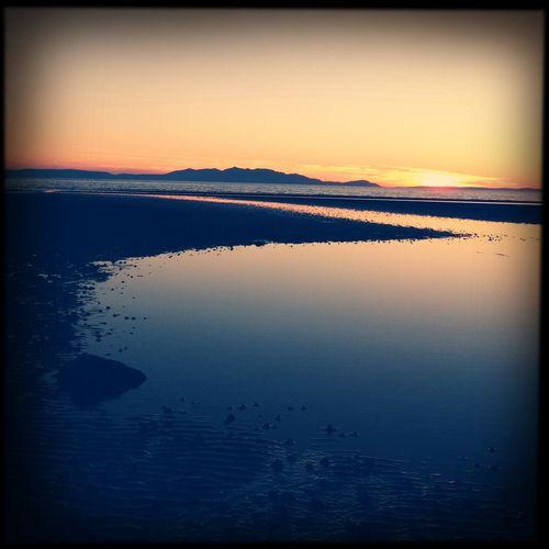 Sunset #sun #clouds #skylovers #sky #nature #beautifulinnature #naturalbeauty #photography #landscape Hipstamatic NEM GoodKarma The Purist (no Edit, No Filter)