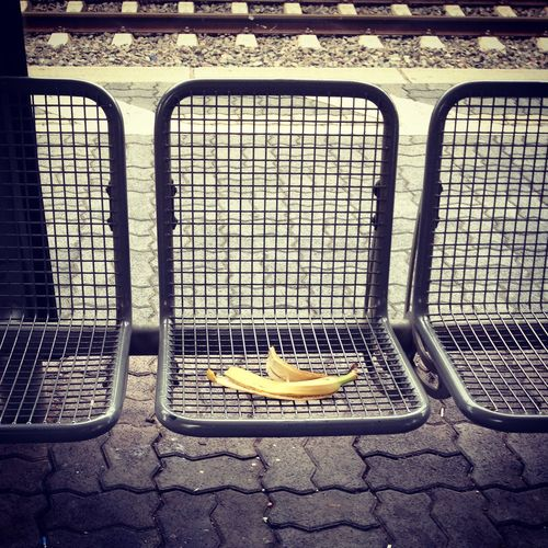 Streetphotography Banana Art Train Station Germany Traveling Leftbehind Deceptively Simple Capture The Moment Telling Stories Differently BYOPaper! Food Stories #urbanana: The Urban Playground