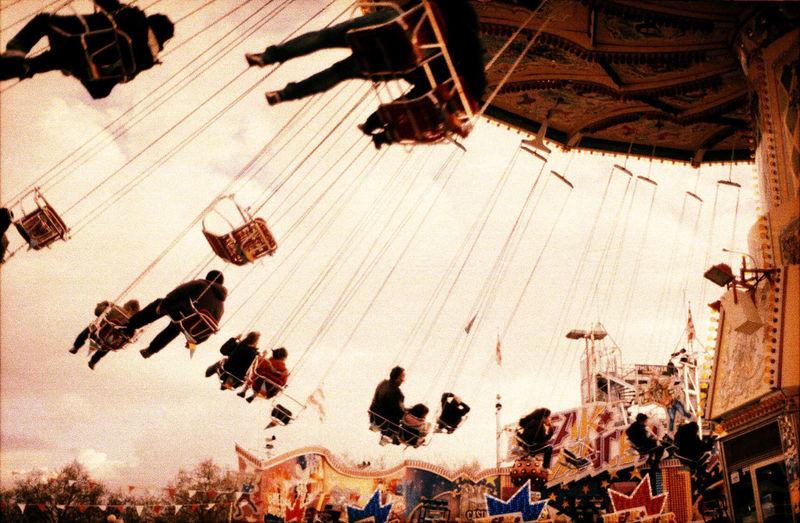 Amusement Parks Enjoyment Fun Fair Leisure Activity Merry Go Round