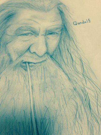 ガンダルフ . Gandalf . 描いてみた 😄