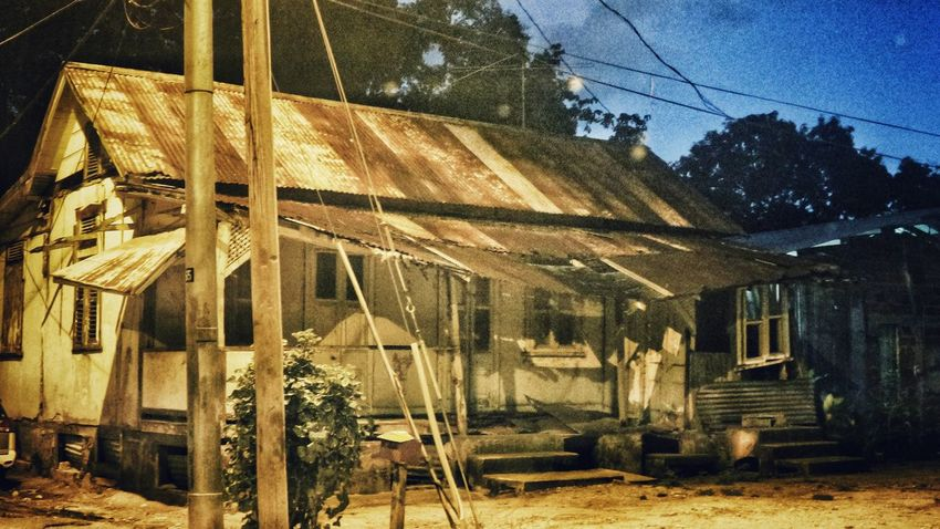 This is a real dilapidated house! Not a drawing. I took this photo last night and added a few filters. Getting Inspired Like A Painting Being Creative Old House Filtered In The Ghetto