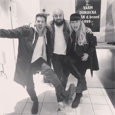 Dbrand Swedish Fashion Brand Store Sergelstorg Hanging out with my homies @tessanmerkel @kennysolomons