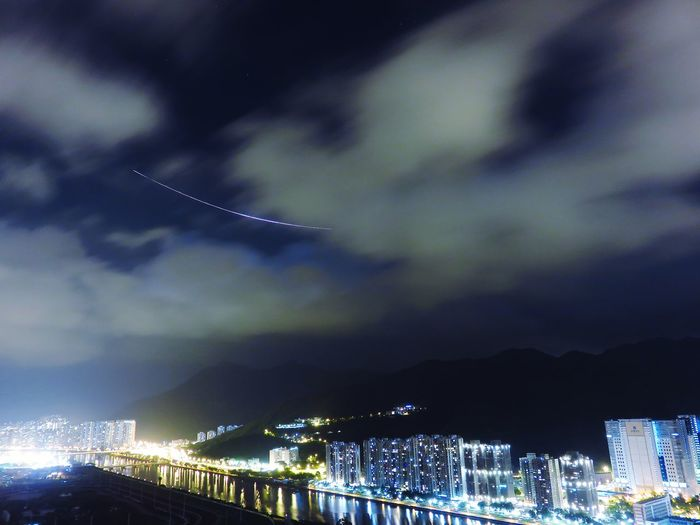 OpenEdit Open Edit Night Lights Airplane Light Lines Hong Kong Flight Midnight Midnight City Photography In Motion Cities At Night Pmg_hok