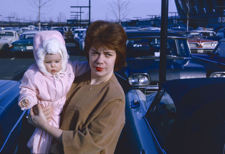 1964 Buffont 1964 Dulles International Old Cars Adult Car Child Childhood Clothing Family Land Vehicle Looking At Camera Men Mode Of Transportation Motor Vehicle People Portrait Real People Son Togetherness Transportation Two People Warm Clothing Winter Women
