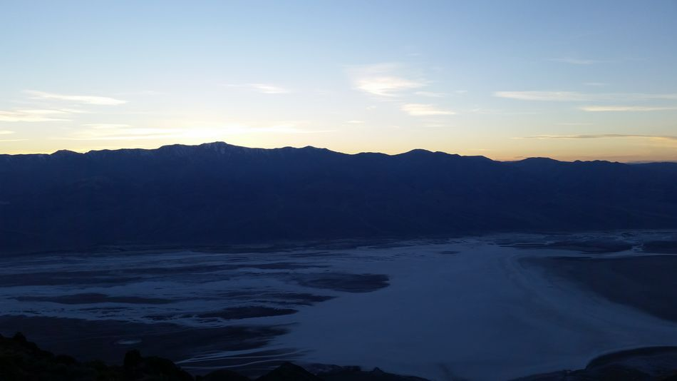 Dantes View Dantesview Desert Death Valley Sunset Mountains Sky