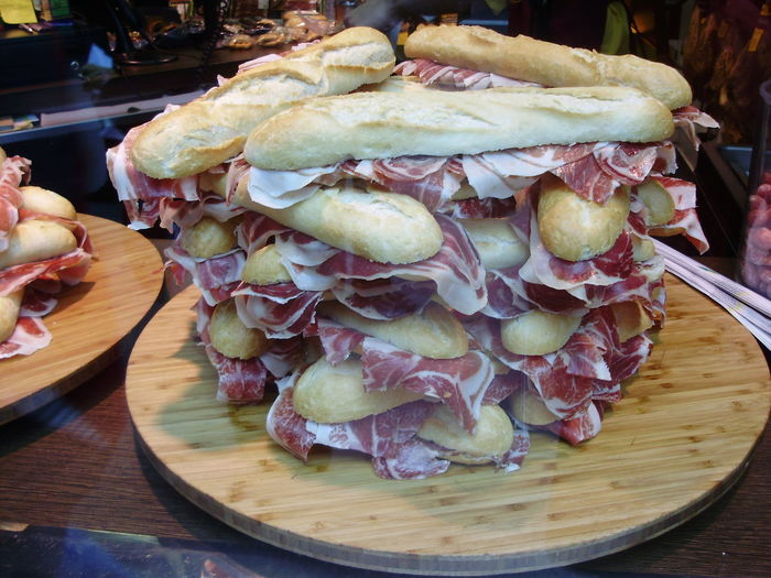 Food Food And Drink Freshness Ham London Lifestyle London Style  Ready-to-eat Sandwiches Sandwitch Table