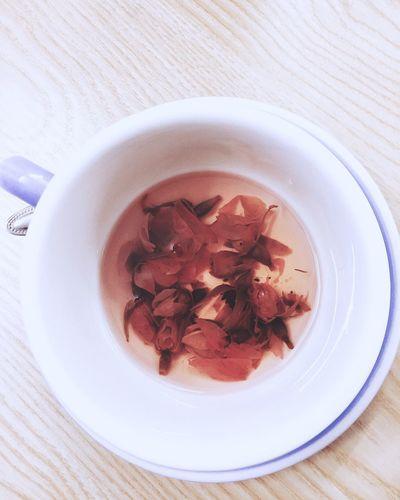 Rose Tea Relaxing HongKong Rosebud Pink Tea Time Tea Lover