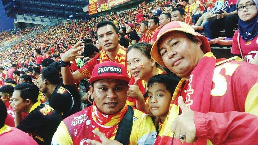 Selangor fan Sports Team Outdoors Soccer Stadium Match - Sport Unity Crowd