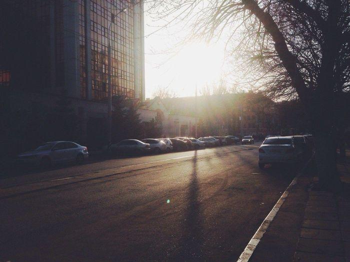 Саратов Мирный переулок утро
