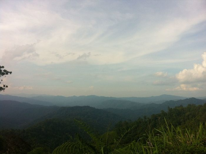 The Titiwangsa Mountains, Malaysia's main range. IPSNoFilter Iphone4 Iphoneonly mMalaysia