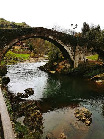 Reflection THREATS Nature Water Outdoors Wild Cantabria Thinking Human Representation Rio River SPAIN Cantabriainfinita Naturaleza🌾🌿 Reflection Nature Lake Puente Bridge Celtic Magic