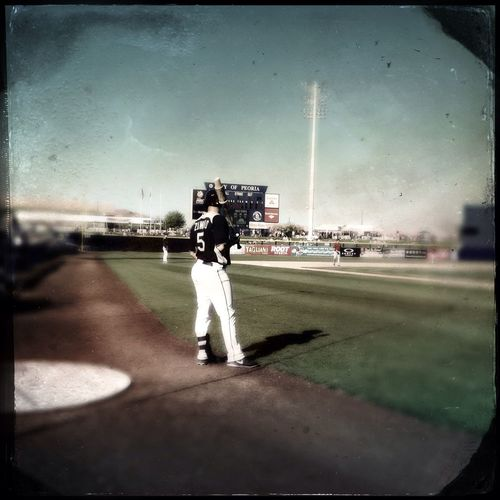 Mike Zunino On Deck