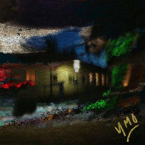 La Nuit de Velours m'enveloppe de son grand Manteau Blanc White Weiss Transitional Moments Hello World Arthur Rimbaud Impressionism