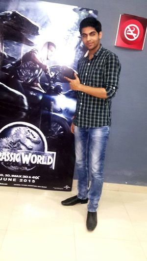 Waiting for this movie one of my favourite franchise exited to watch .... Jurassicworld NoSmokingPlease Popular Photos Photos Around You Movie Time