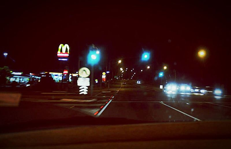 Night Photography Diving Home Little Traffic MacDonald Street Light Quite Place ❤❤❤