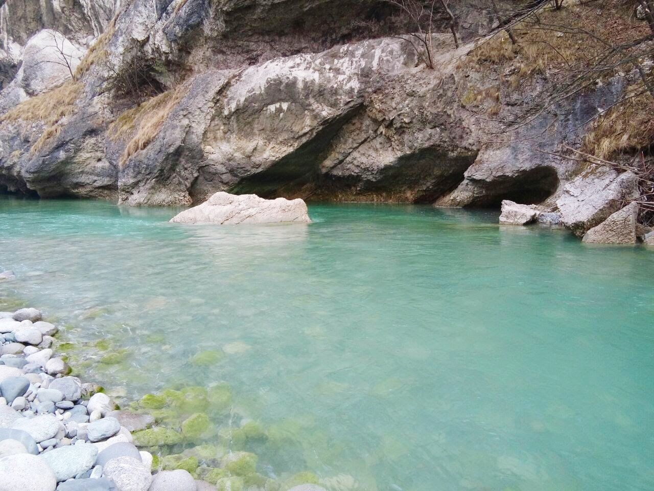 rock, water, solid, rock - object, sea, beauty in nature, rock formation, scenics - nature, day, tranquility, nature, no people, land, tranquil scene, physical geography, outdoors, geology, waterfront, idyllic, turquoise colored, eroded
