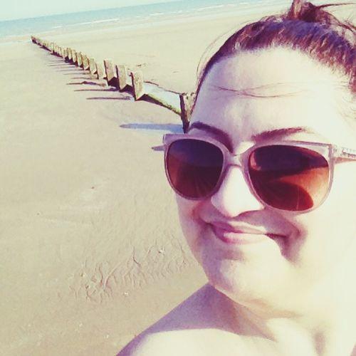 Dymchurch That's Me Sunshine Getting A Tan Sea Relaxing Enjoying The Sun London Uk England