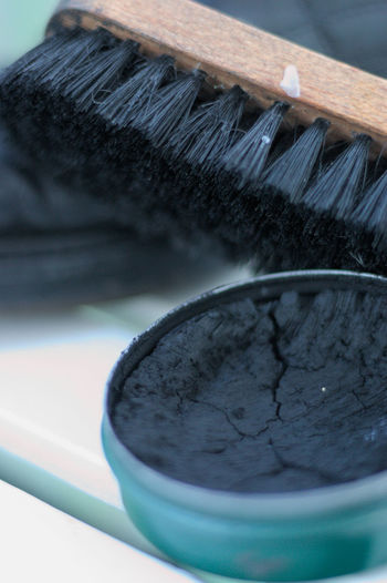 Shoe cleaning Brush Cleaning Close-up Creativity Day Housework M Man Men Shoes Men Style Old-fashioned Shoe Shoe Cleaning Shoe Cream Shoebrush Shoes