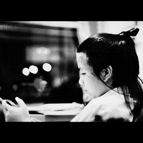Niece  Bw Blackandwhite Ig_pop igthai ig_thai igphoto ig_photo instahub instapic instagood instamood instathai instaphoto girl sattahip thailand