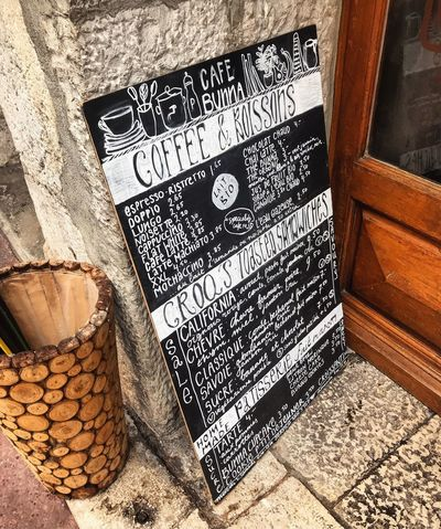 Coffee & Boissons Travelphotography Blackandwhite Gorgeous Beautiful French Food France Photos Vacation Vacations Holiday Coffee Time Caffeine Pastry Cafe Handwriting  Typography Travel Photography Europe IPhoneography Travel Travel Destinations Blackboard  Annecy, France France French Coffee Wood - Material Day No People Close-up Outdoors