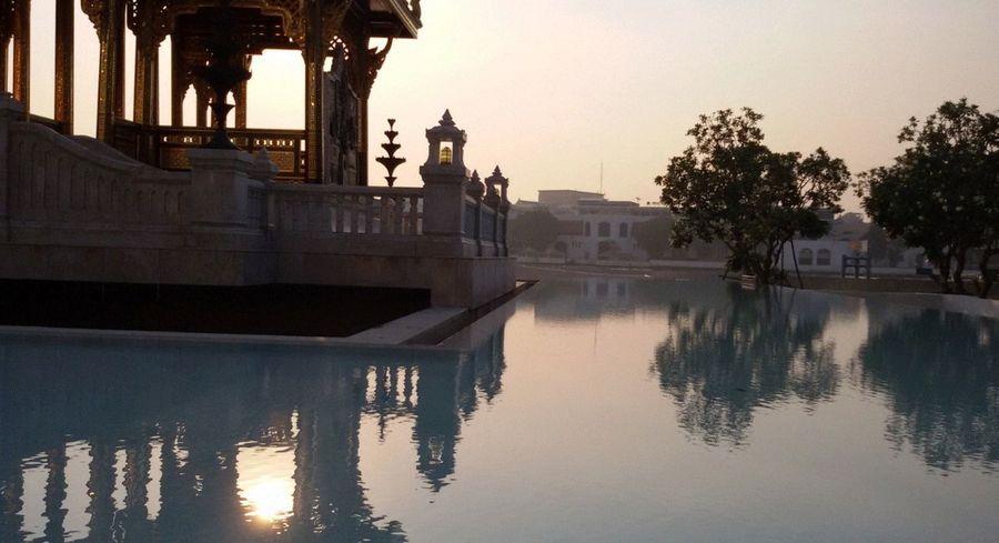 Reflected water, 'enjoy The Sun , Architecture Taking Photos EyeEm Thailand .