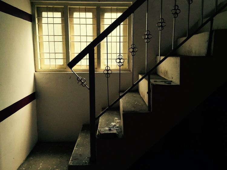 Upstairs... Peaceful Stairs Window Light Check This Out Eye4photography  IPhoneography Perspectives Relaxing Light And Shadow Architecture