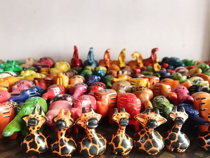 Colorful toys for sale