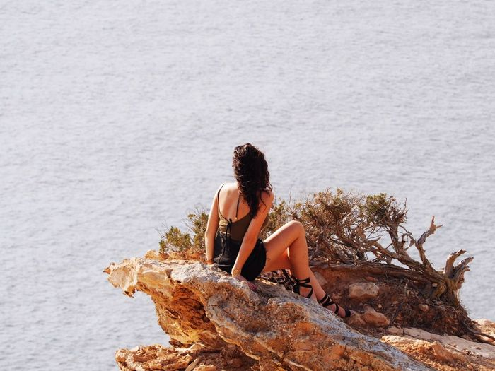 Enjoy the views of Ibiza in more ways than one🇪🇸 Ibiza Experimentalbeach Baleric Islands Photography Picoftheday